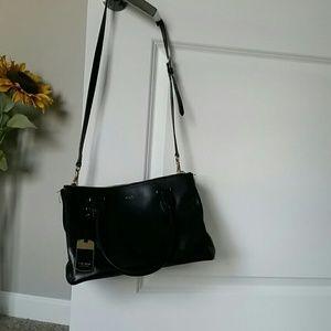 RLL Black satchel